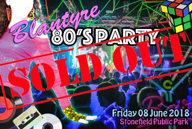 80s party sold out